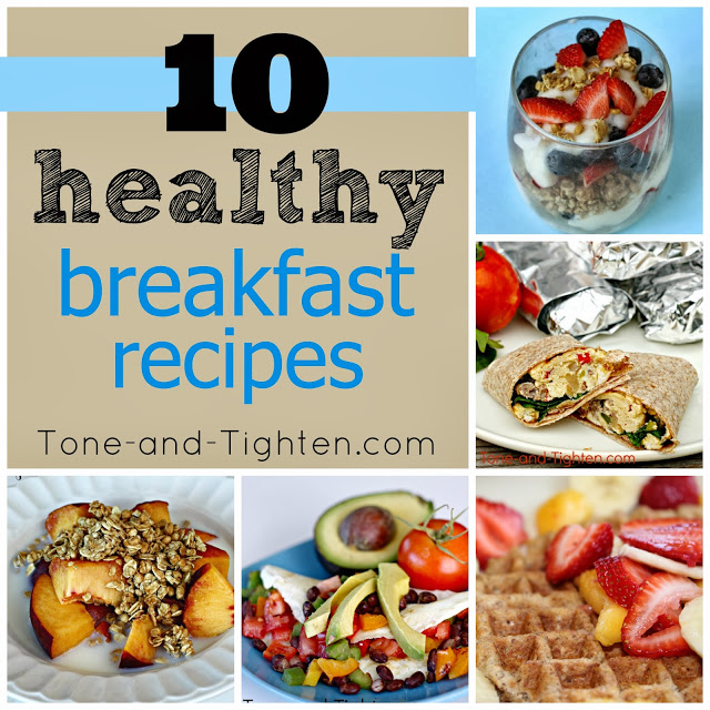 Quick easy healthy recipes for breakfast