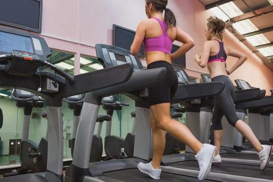 slipping belt side proform to one treadmill