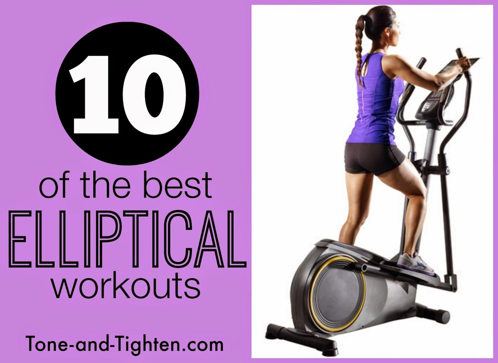 Hiit Elliptical Workouts 4 Times A Week
