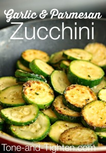 Garlic-Parmesan-Zucchini