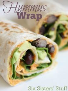 Hummus-wrap