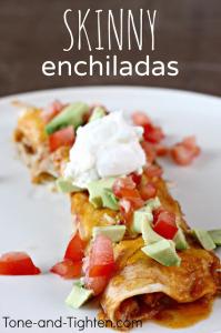 skinny enchiladas