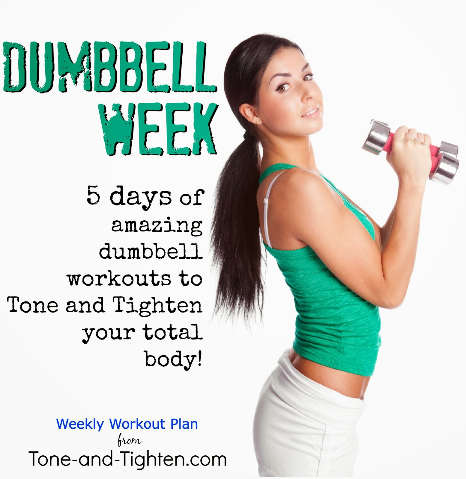 Dumbbell Exercises Chart Shoulders And Arms