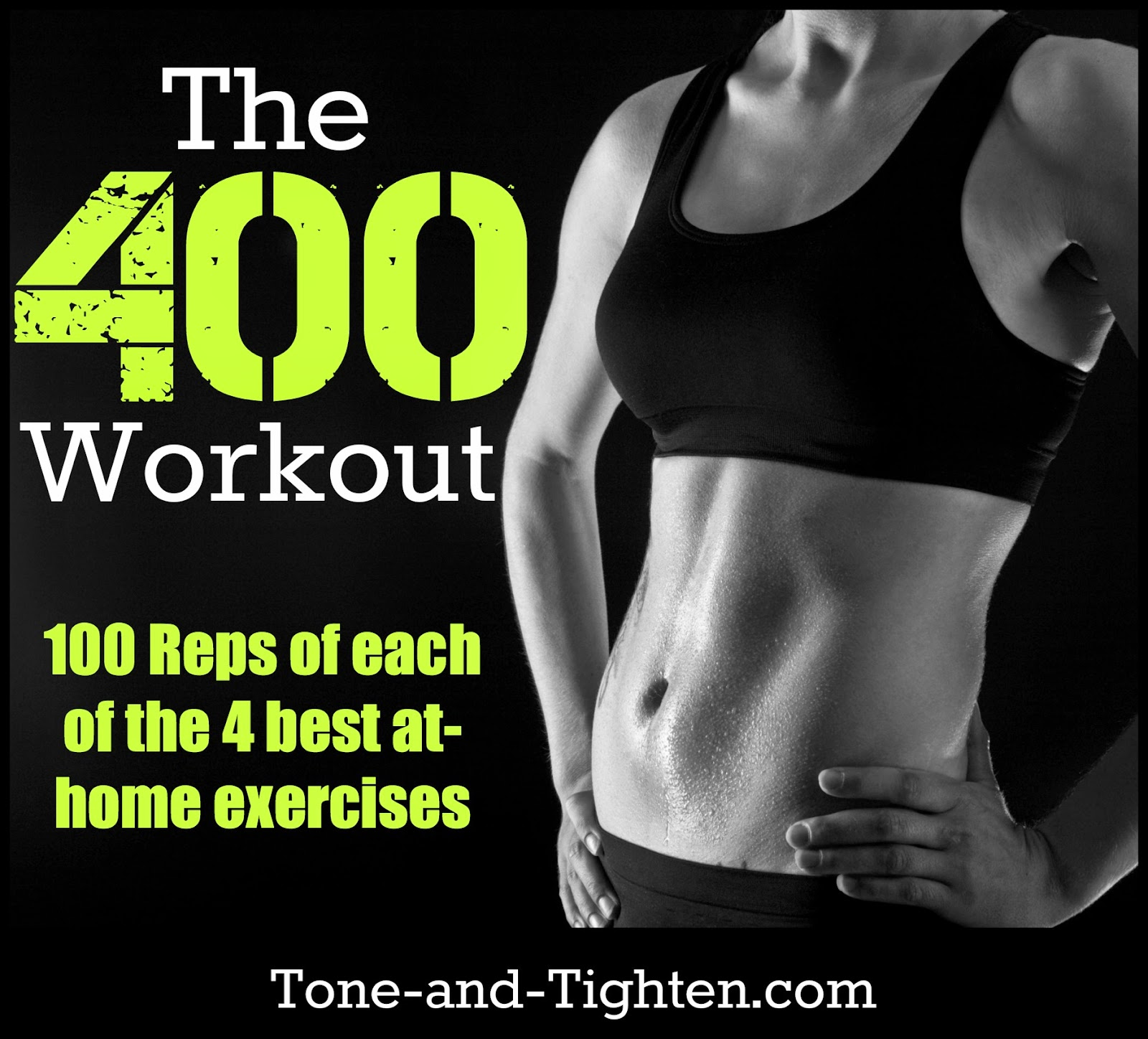 Tone Body: Quick At-Home Total-Body Workout