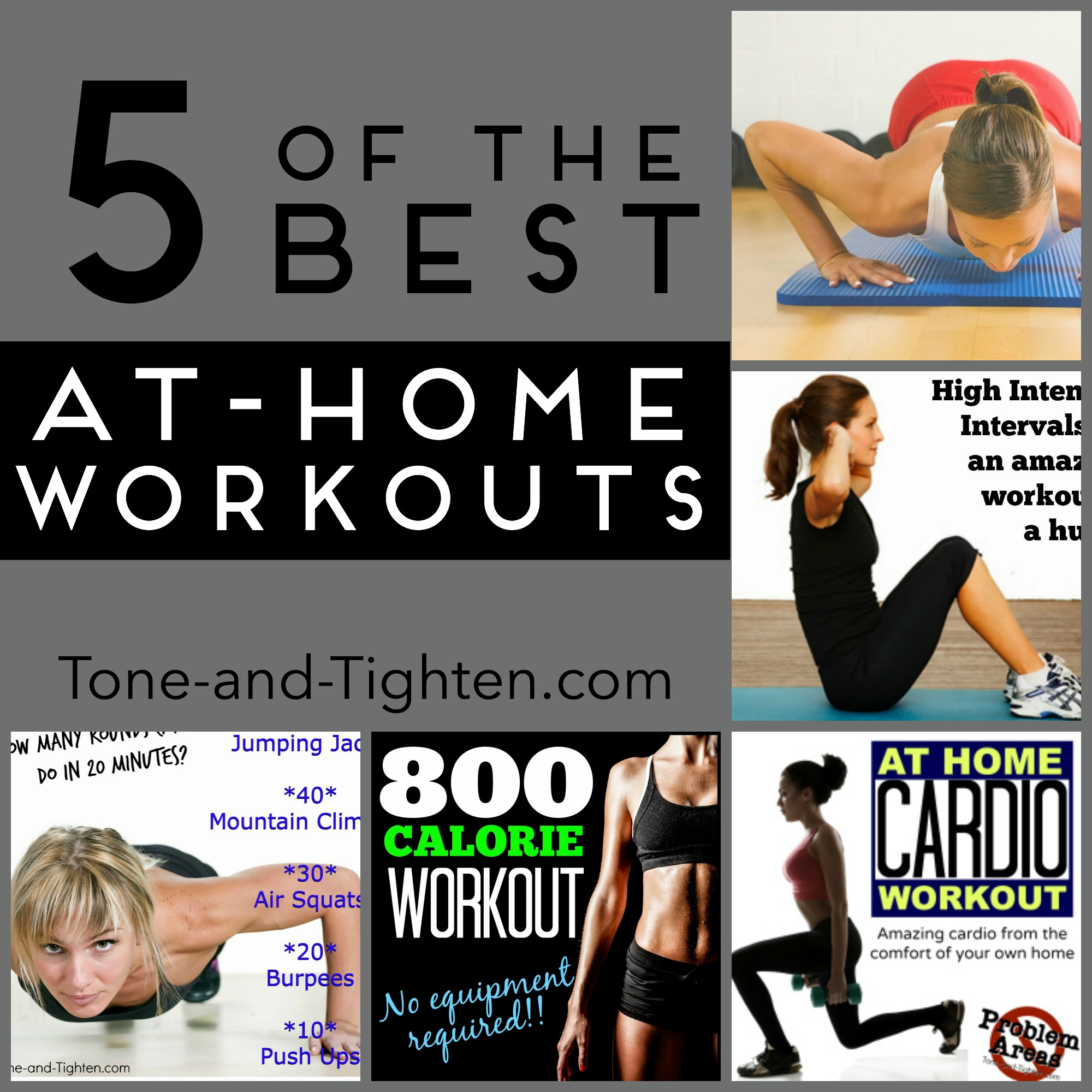 how to get fit in 1 week at home