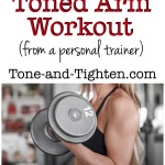 20 Minute Toned Arm Workout on Tone-and-Tighten