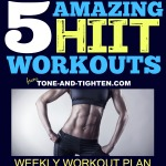 best hiit interval workout to tone and tighten muscles body