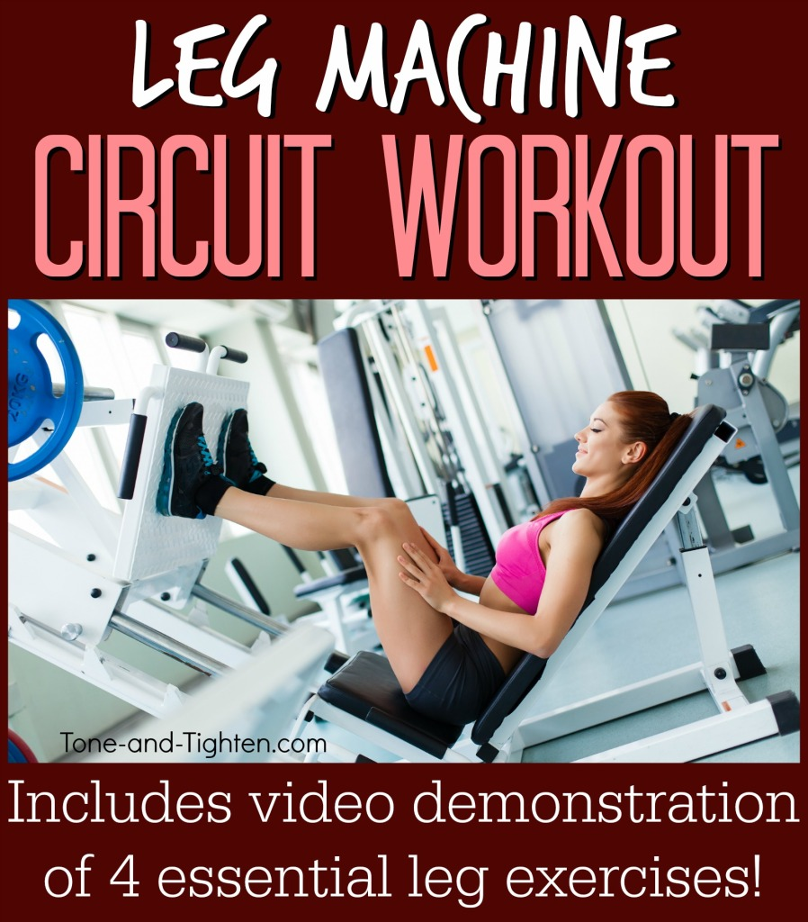 workout machine for legs
