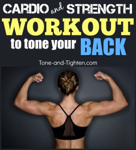 best cardio and strength workout to tone and tighten your back muscles gym