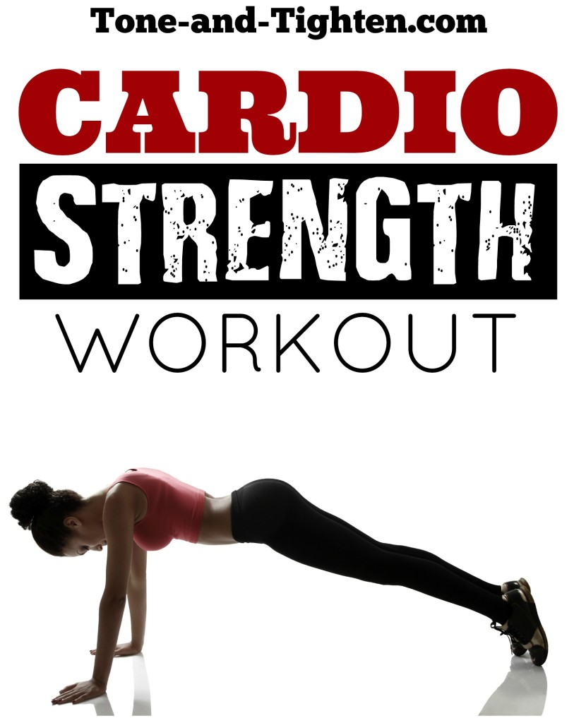 quick cardio strength workout you can do at home tone tighten