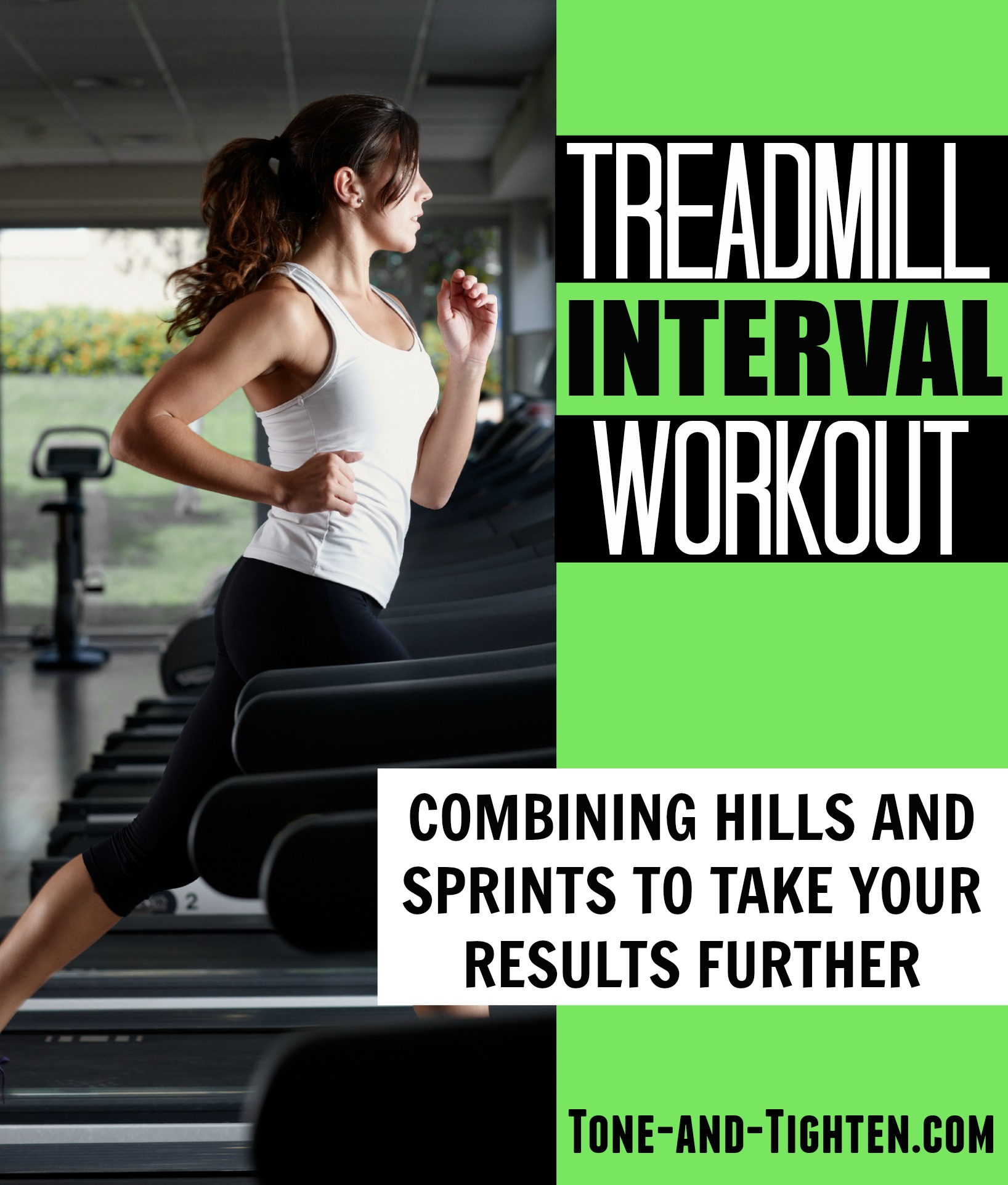 Treadmill Interval Workouts: Treadmill Interval Workout With Hills