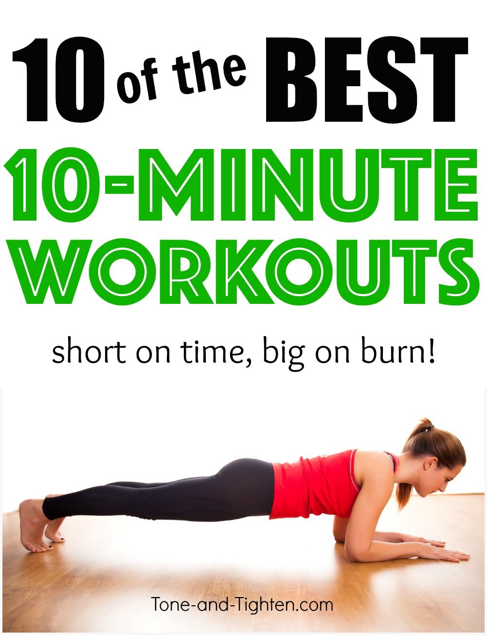 Ten of the Best 10-Minute Workouts Tone and Tighten