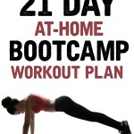 21 Day At-Home Bootcamp Workout Plan on Tone-and-Tighten