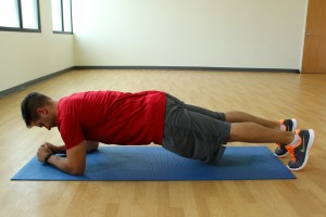 Forearm (low) plank