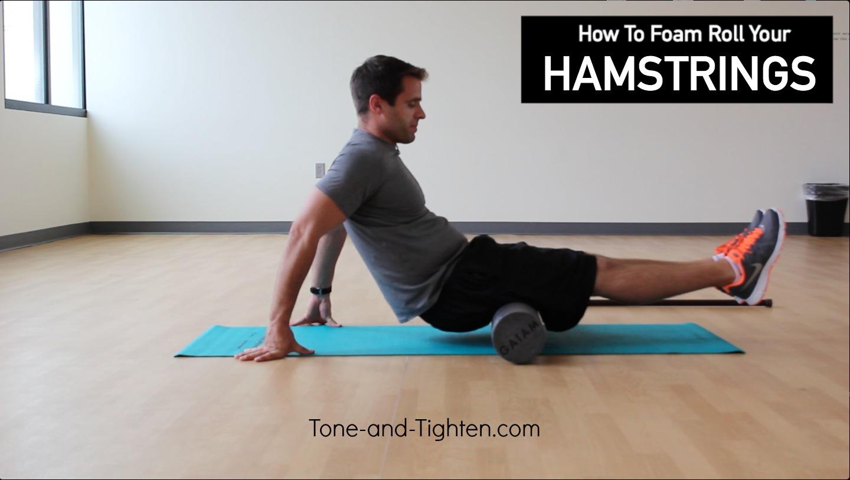 Buy foam roll physical therapy - Hamstrings Foam Roller