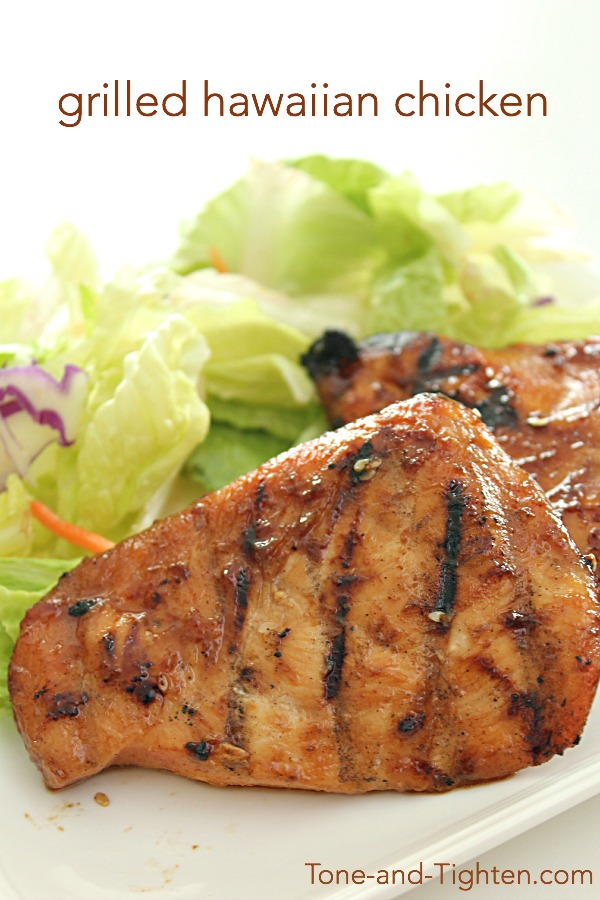Grilled Hawaiian Chicken on Tone-and-Tighten.com