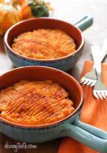 Sweet Potato Turkey Shepards Pie
