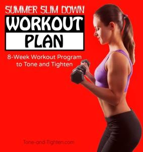 summer slim down workout series week 6 tone tighten