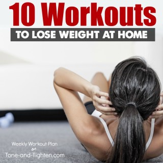 at home workout plan tone tighten weight loss