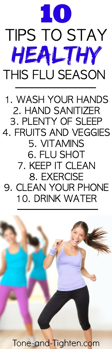 tips to stay healthy this flu season pinterest