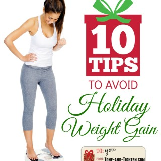 10 tips to avoid holiday weight gain