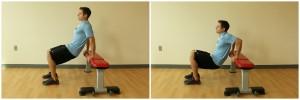chair dips triceps