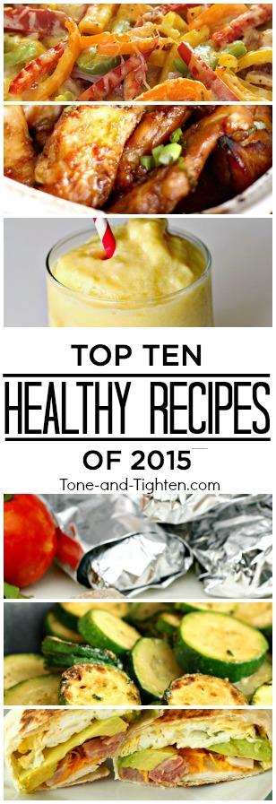 top ten healthy recipes 2015 at home pinterest