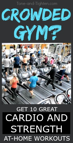 at home cardio strength workout plan pinterest