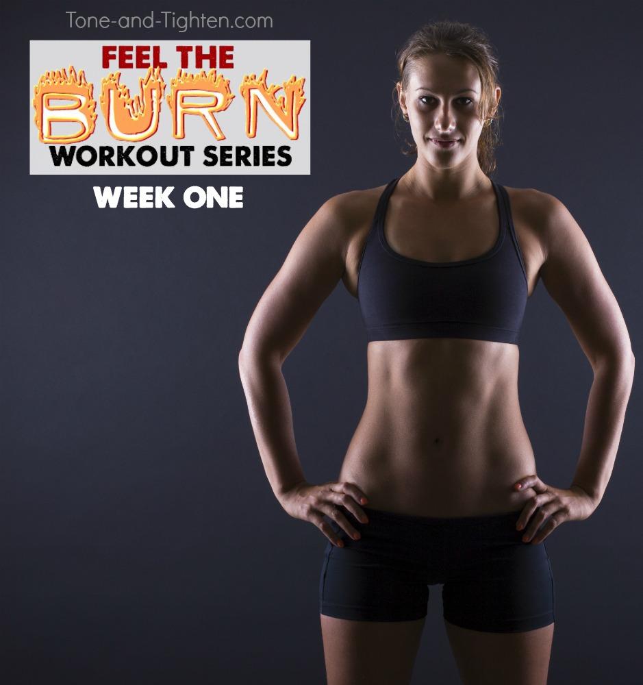 Feel the burn summer workout series week one