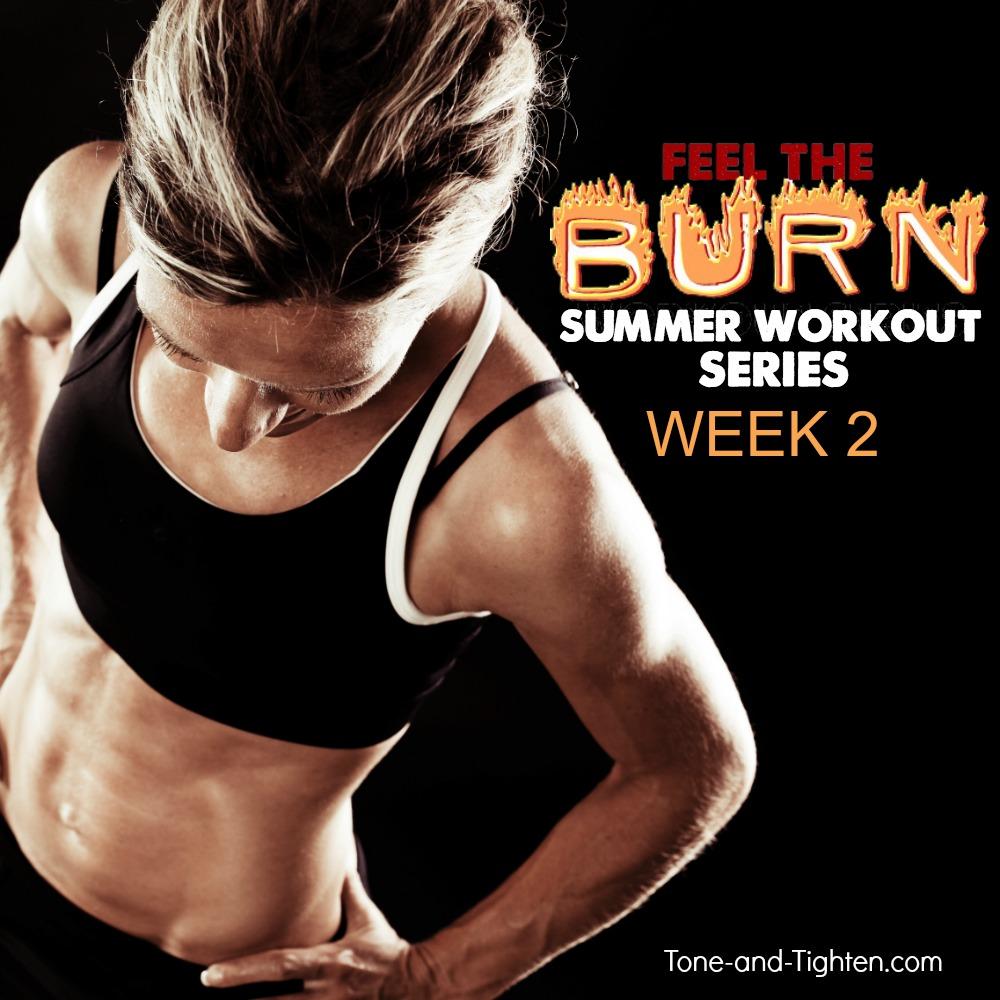 feel the burn summer workout series week 2