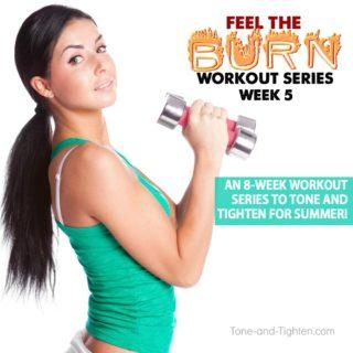 summer at home workout series plan week 5
