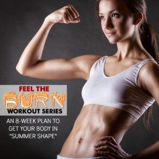 summer workout series feel burn week 8