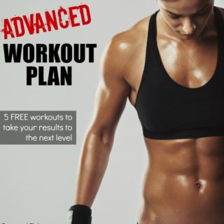 advanced workout plan at home