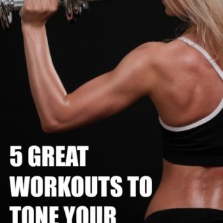 arm toning workouts at home