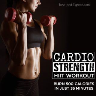 burn 500 calories in 35 minutes workout at home
