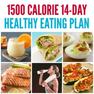 1500 Calorie 14-Day Healthy Eating Plan on Tone-and-Tighten