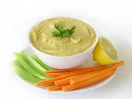 hummus and veggie