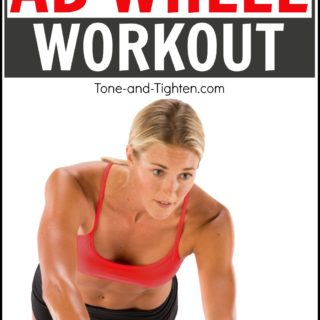 quick at home ab abs wheel workout