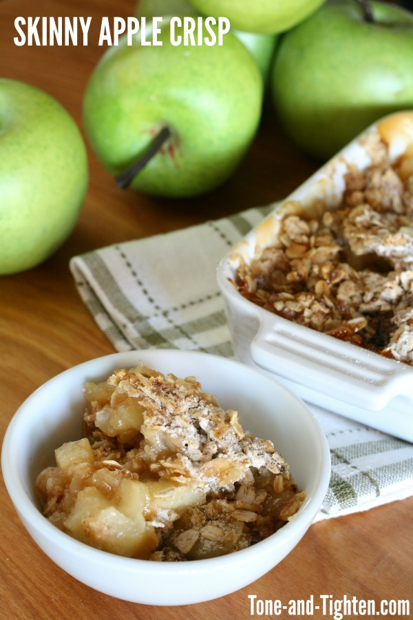 Skinny Apple Crisp | Tone and Tighten
