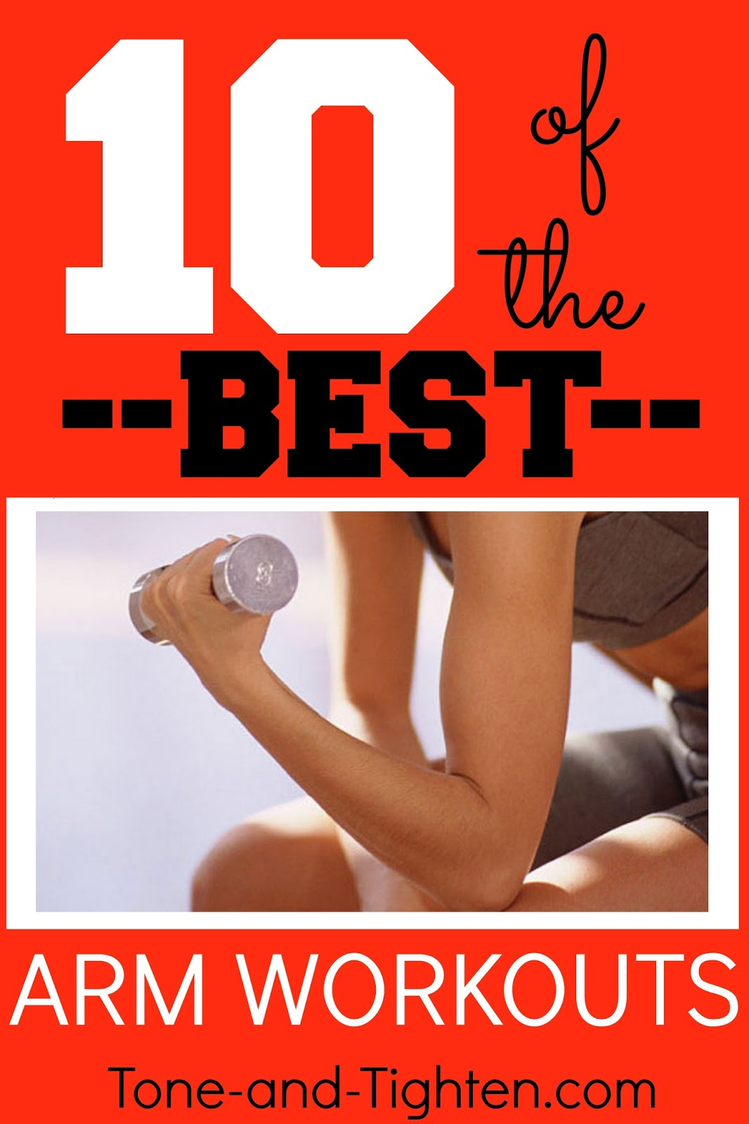 10 of the Best Arm Workouts on YouTube  Tone and Tighten
