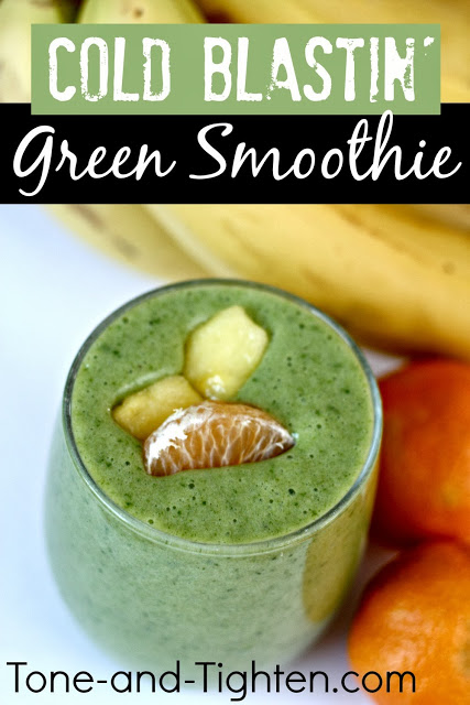 Cold Blastin' Green Smoothie Recipe