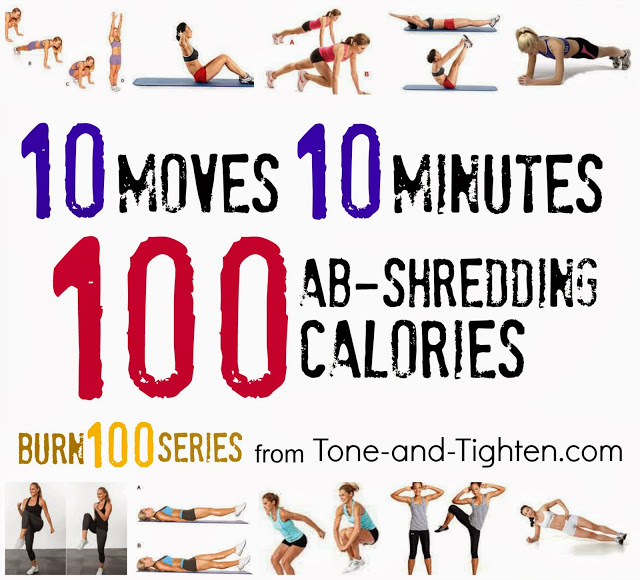 Wanna Burn Through 100 Calories All You Need Is 10 Minutes These Moves And A Burning Desire To Rip Out Your Midsection