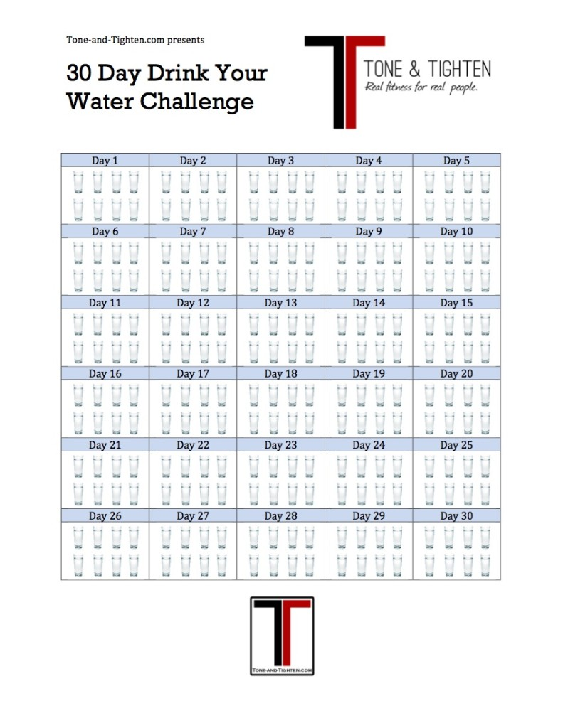 Drink your water challenge