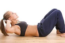 how to do an abdominal crunch exercise