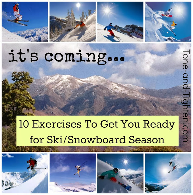 Best Exercises For Skiing Snowboarding