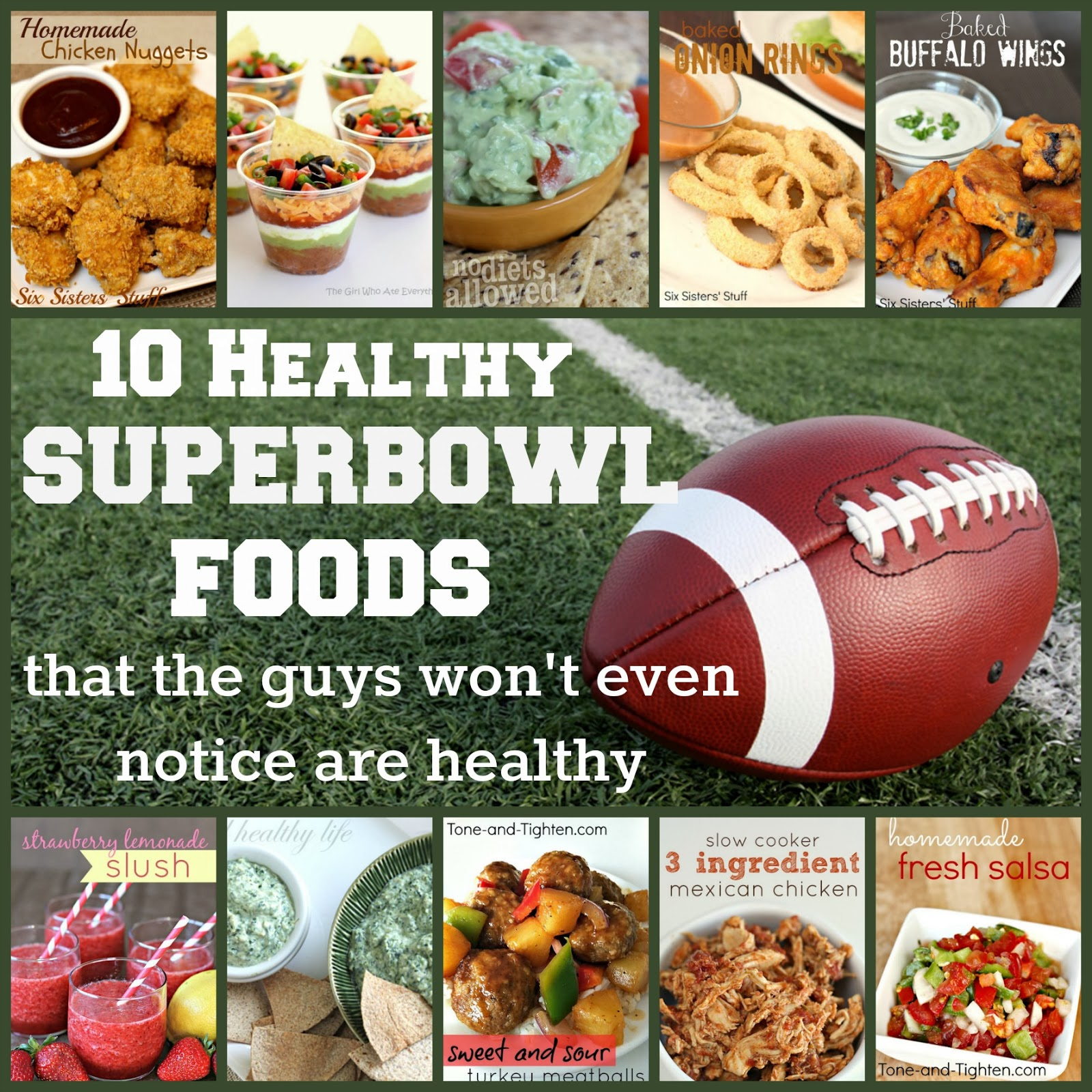 10 healthy superbowl foods that the guys wont make fun of you for be sure to follow on pinterest google and facebook for more workouts and fitness ideas forumfinder Image collections