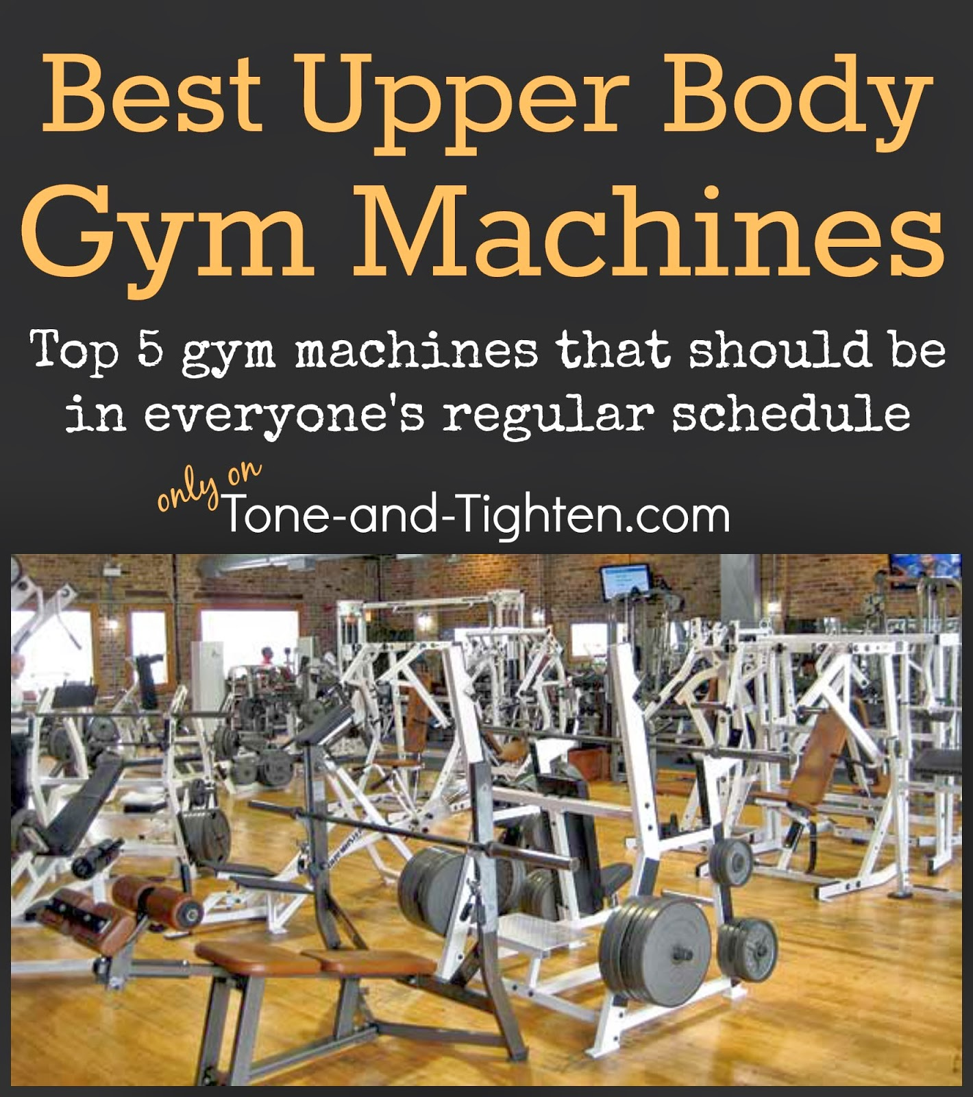 Best Upper Body Gym Machine Exercises The Moves You Need To Be Doing