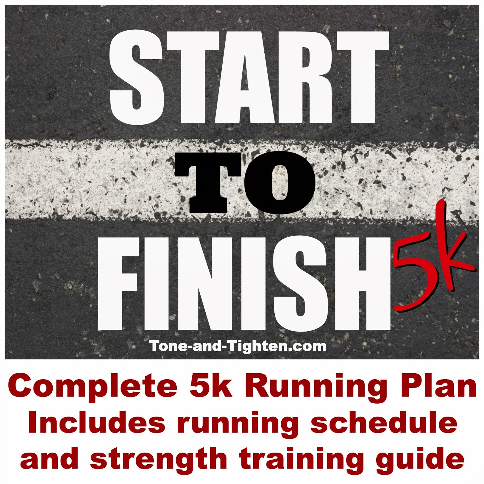 Start To Finish 5k Free Able Running Program