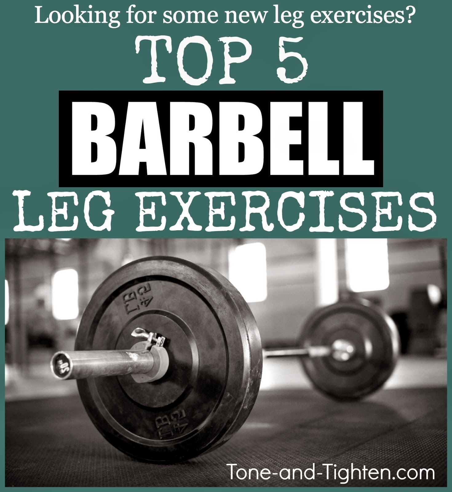 Top 10 Best Home Barbell Leg Exercises No Squat Racks Needed Youtube