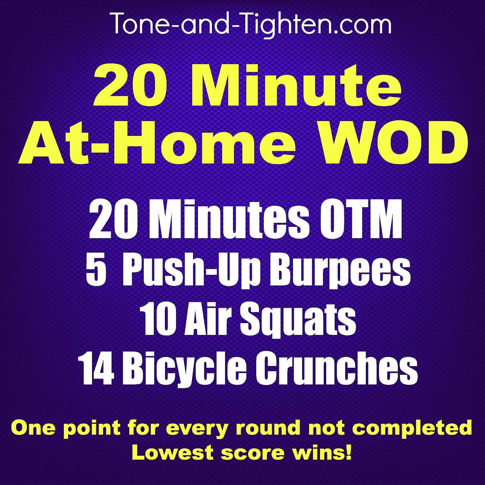 Crossfit Workouts: Weekly Workout Plan- At-Home Crossfit Inspired Workouts